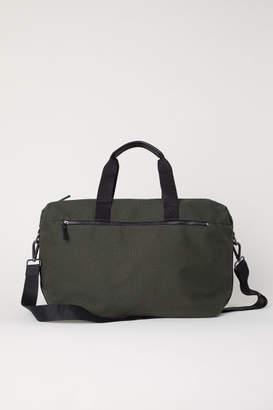 H&M Canvas Weekend Bag - Green