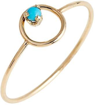 Chicco Zoe Turquoise Circle Ring