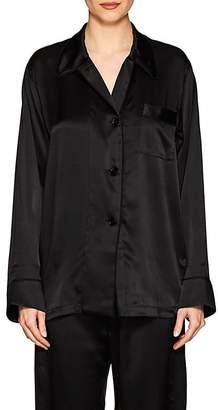 Araks Women's Kate Silk Long-Sleeve Pajama Top