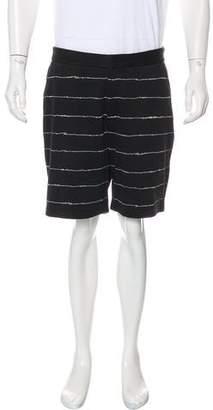 Alexander Wang Knit Flat Front Shorts