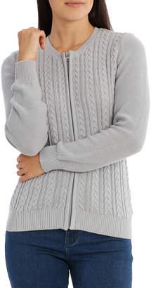 Zip Front Cardigan