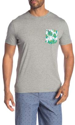 Original Penguin Short Sleeve Palms Pocket Tee
