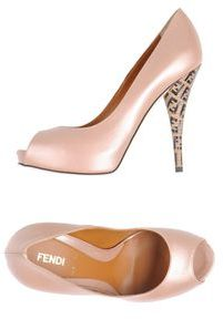 Fendi Pumps with open toe