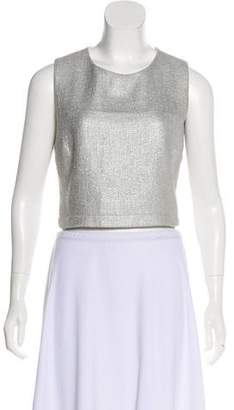 A.L.C. Basketweave Sleeveless Top