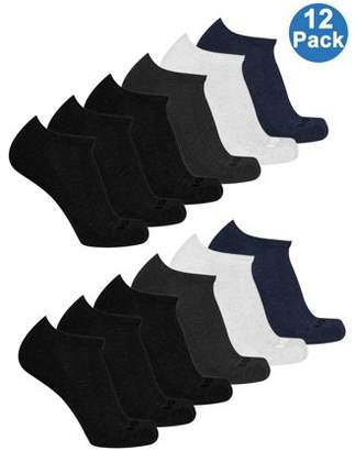 AND 1 And1 Men's No Show Value Multi, 12PK
