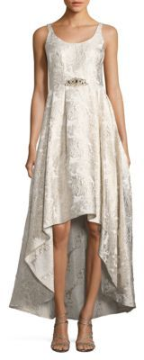 Betsy & Adam Sleeveless Embellished Gown $269 thestylecure.com