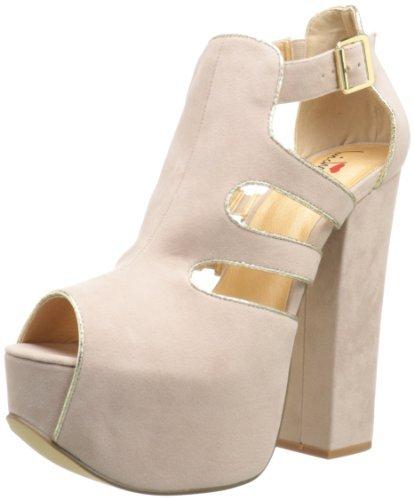 Luichiny Women's Out All Nite Platform Sandal