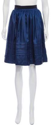 Moncler Knee-Length Paneled Flare Skirt