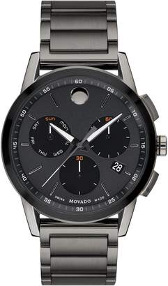 Movado Museum Sport Chronograph Bracelet Watch, 43mm