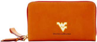 Dooney & Bourke NCAA West Virginia Zip Around Phone Wristlet