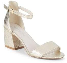 Kenneth Cole Hannon Metallic Sandals