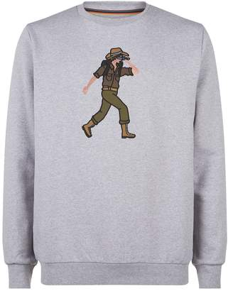 Paul Smith Explorer Motif Sweatshirt