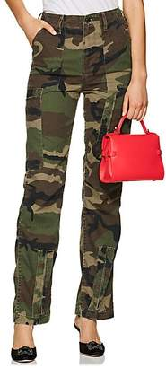 RE/DONE Women's Camouflage High-Waist Cargo Pants