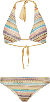Missoni Mare Striped Bikini Set