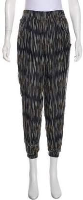 IRO Printed High-Rise Pants w/ Tags