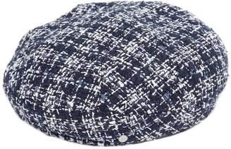 Maison Michel FLORE ツイードベレー帽