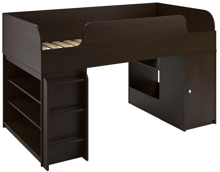 CoscoCosco Elements Bookshelf & Toy Box Loft Bed