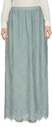 Twin-Set SCEE by TWINSET Long skirts