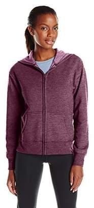 Hanes Women's Full Zip Fleece Hoodie
