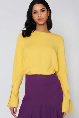 NA-KD Na Kd Tied Sleeve Knitted Sweater
