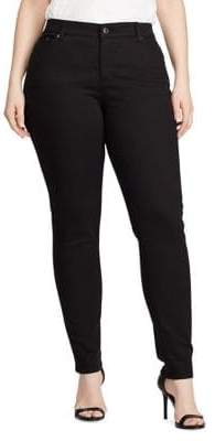 Lauren Ralph Lauren Plus Superstretch Skinny Jeans