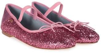 Chiara Ferragni Glittered Ballet Flat