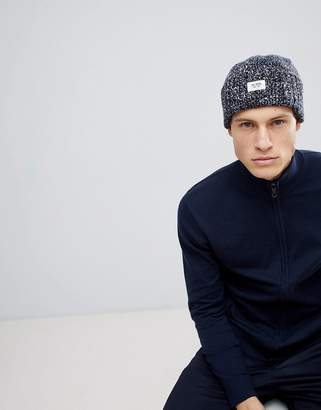 Esprit Turn Up Chunky Marl Beanie In Wool Blend