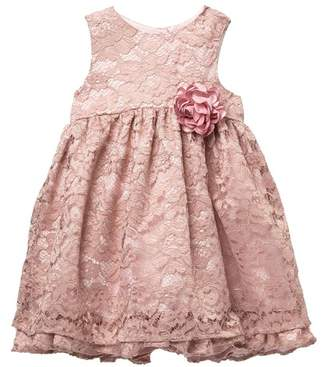 Pippa Pastourelle by and Julie Two Tier Lace Dress (Toddler Girls)
