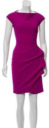 Chiara Boni Sleeveless Sheath Dress w/ Tags Purple Sleeveless Sheath Dress w/ Tags