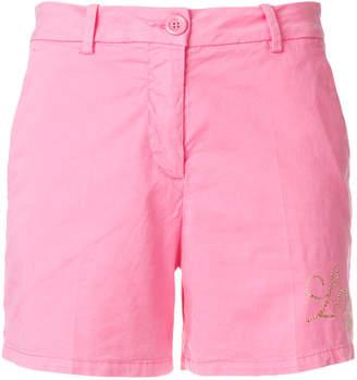 Love Moschino studded logo shorts