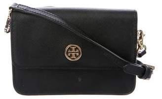 Tory Burch Logo Leather Crossbody Bag