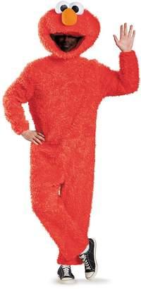 Disguise Men's Full Plush Elmo Prestige Adult Costume