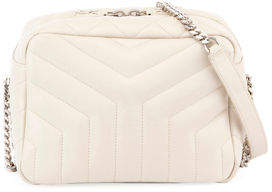 Saint Laurent Loulou Monogram Y-Quilted Small Bowling Bag