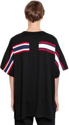 Facetasm Oversized Jersey T-Shirt W/ Knit Band