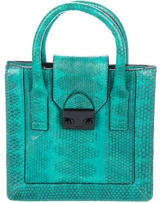 Loeffler Randall Embossed Junior Work Tote