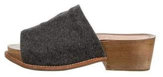 Rachel Comey Felt Platform Sandals