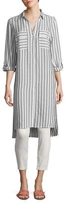 Jones New York Long Striped Tunic