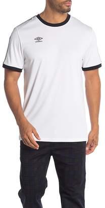 Umbro Geometric Print Trim Logo T-Shirt