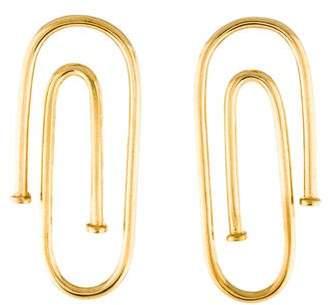 Jennifer Fisher Pipe Earrings