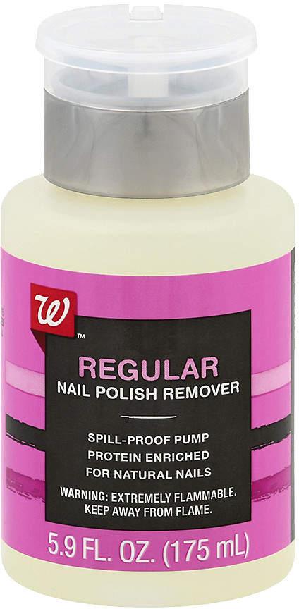 Walgreens Beauty Nail Polish Remover Pump