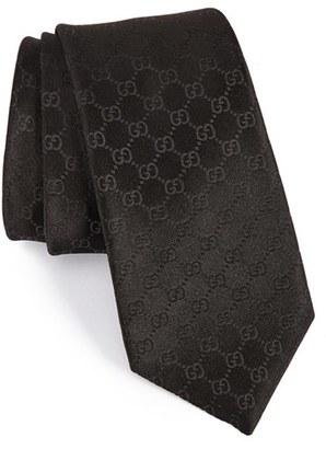 Men's Gucci Federa Silk Jacquard Tie $200 thestylecure.com