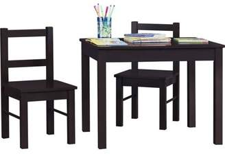 Ameriwood Home Hazel Kid's Table and Chairs Set, Multiple Colors