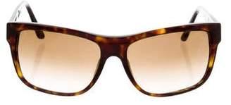 Versace Gradient Tortoiseshell Sunglasses
