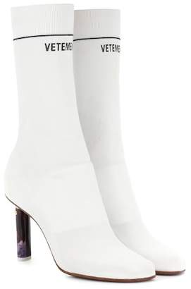 Vetements Lighter-heel sock ankle boot