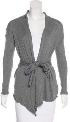 L'Agence Rib Knit Long Sleeve Cardigan
