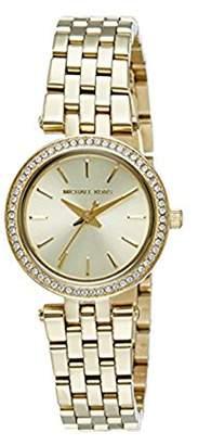 Michael Kors Women's Mini Darci Watch Quartz Mineral Crystal MK3295