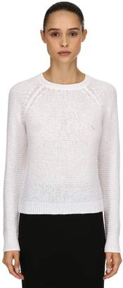 Max Mara Cashmere & Silk Rib Knit Sweater