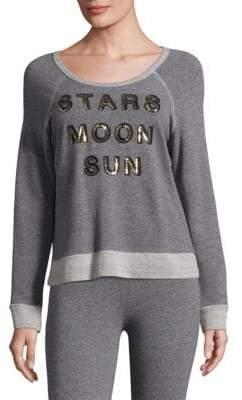 Sundry Stars Moon Sun Pullover