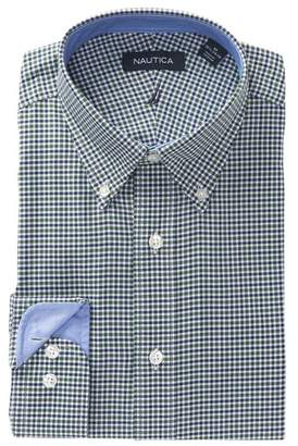 Nautica Check Classic Fit Dress Shirt