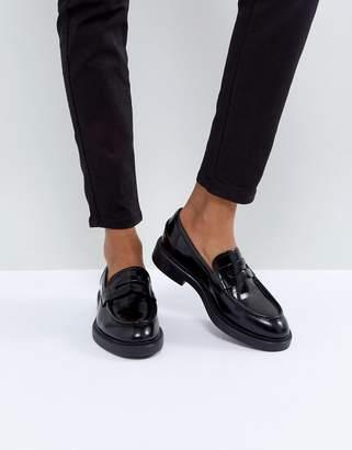 Vagabond Alex Black Leather Loafer